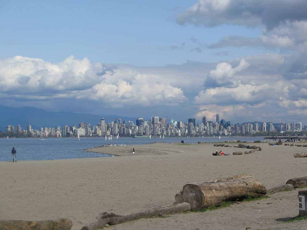 Spanish Banks West at Low Tide